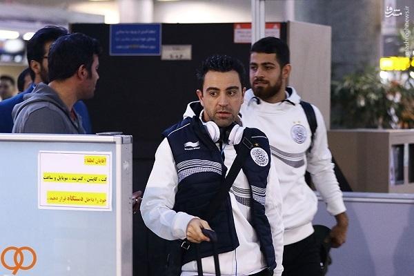 عکس/ ورود ژاوی به ایران