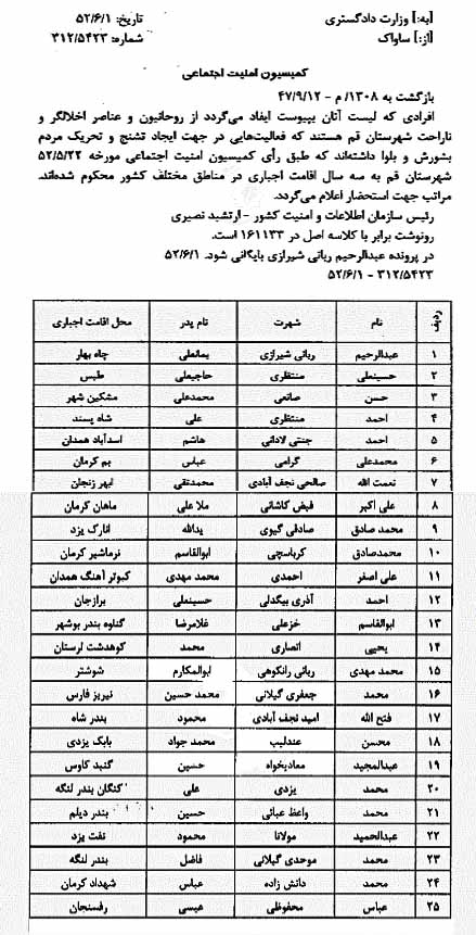 تبعید علما در آستانه انقلاب؛ از آیت الله مکارم تا آیت الله خامنهای///
