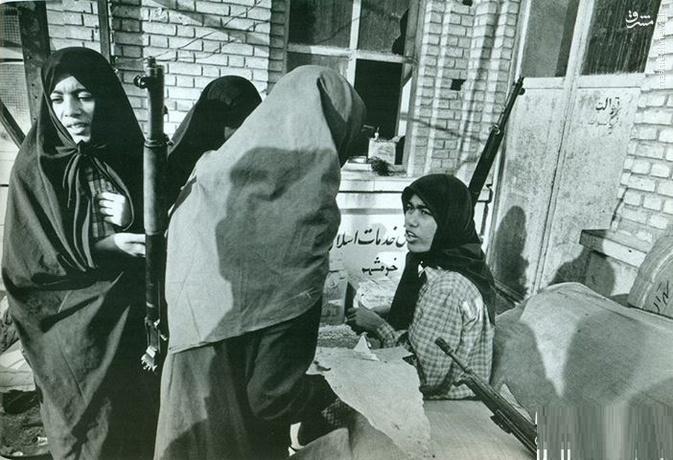 خاطراتی از زنان مدافع خرمشهر