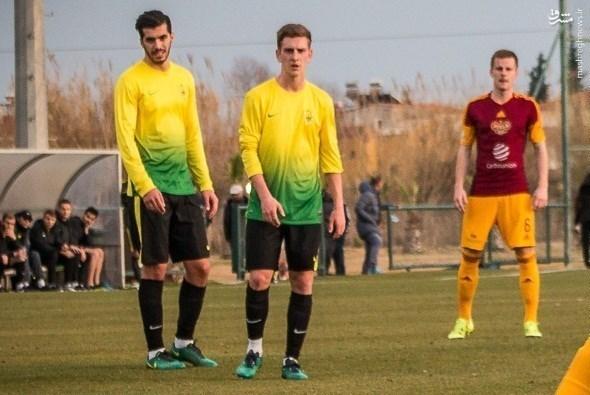 عکس/ اولین بازی عزت اللهی در تیم جدیدش