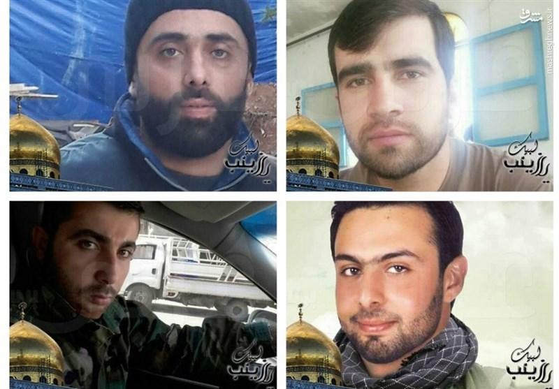 مدافعان حرم لبنانی که ماه گذشته به شهادت رسیدند + عکس
