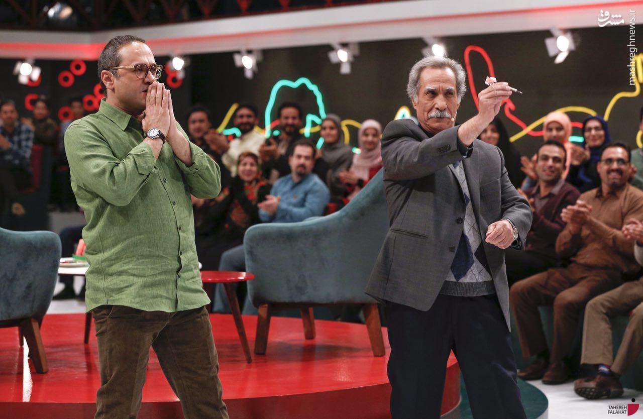 عکس/ کدام بازیگر امشب مهمان «خندوانه» است؟