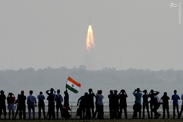 هند؛قرار دادن 104 ماهواره تنها با یک موشک در مدار