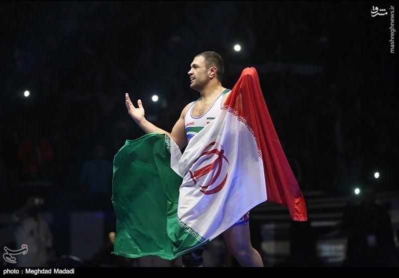کمیل حکم قهرمانی ایران را امضا کرد/ ایران برای ششمین بار پیاپی قهرمان شد +فیلم