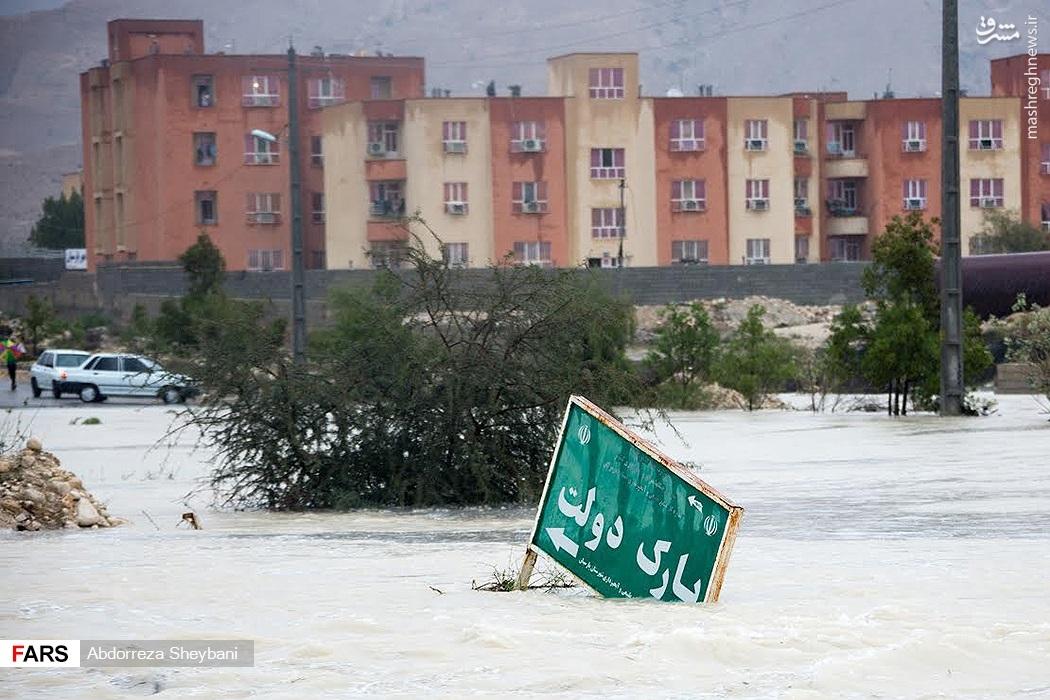 عکس/ پارک دولت زیر آب !