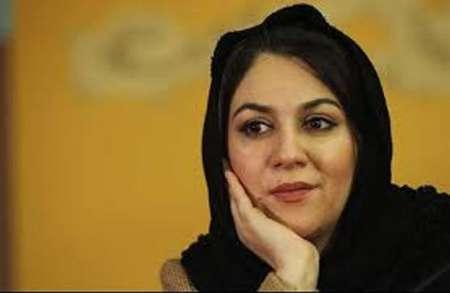 تبلیغ یک بازیگر زن برای خرید کالای ایرانی