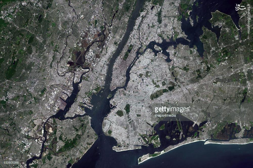 عکس/ نیویورک را از بالا ببینید؛