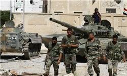 حمله ارتش سوریه به کاروان داعش