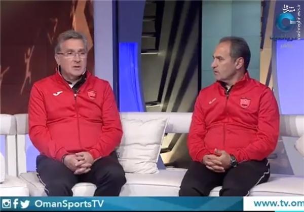 برانکو در مصاحبه با تلویزیون عمان چه گفت؟ +عکس