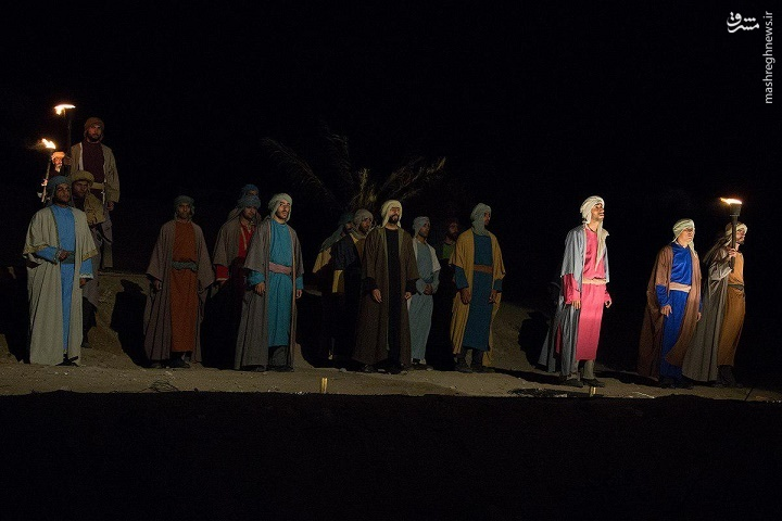 استقبال مردمی از نمایش بزرگ «فصل شیدایی»