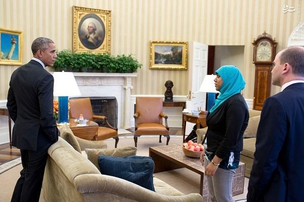 سرنوشت تنها زن محجبه کاخ سفید در دولت ترامپ