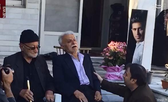 حال پدر مهرداد اولادی پس از شنیدن خبر مرگ پسرش +عکس