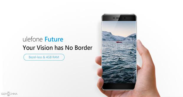 گوشی Ulefone Future با صفحه بدون حاشیه رسما معرفی شد