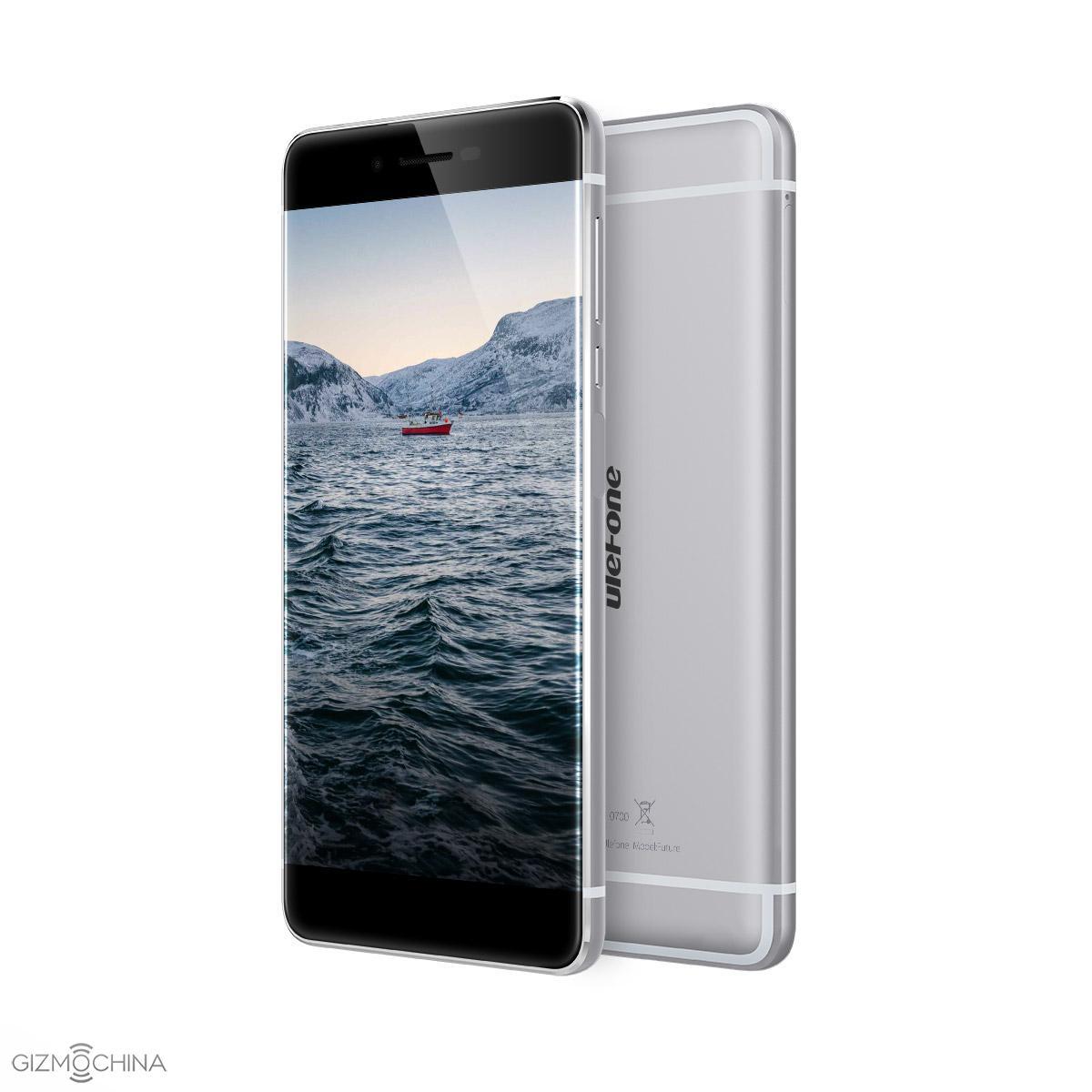 گوشی Ulefone Future با صفحه بدون حاشیه معرفی شد +عکس
