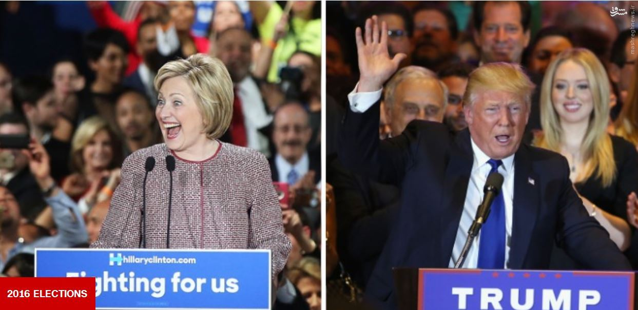 کلینتون و ترامپ فاتح نیویورک شدند / کار سندرز تمام شد