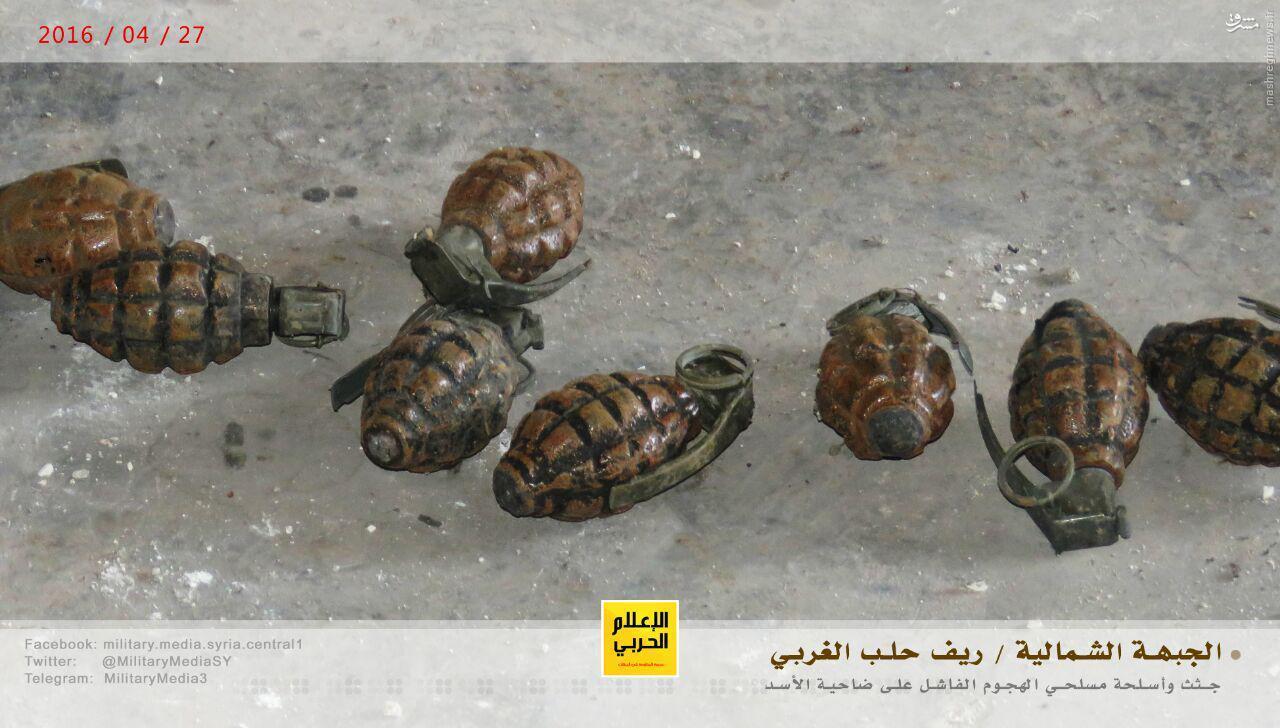 100 کشته تروریستها در حمله ناکام فاضلابی به حلب+عکس