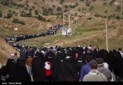 عکس/ صعود ۲۰ هزار نفری به ارتفاعات بازیدراز