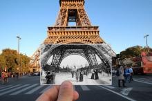 عکس/ تونل زمان در خیابانهای پاریس