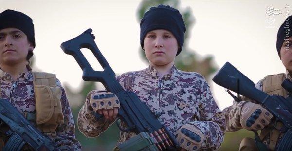 رونمایی داعش از کودکان انتحاری+عکس