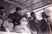 تصاویر/ امام خمینی (ره) در مراسم ختم شهید مطهری