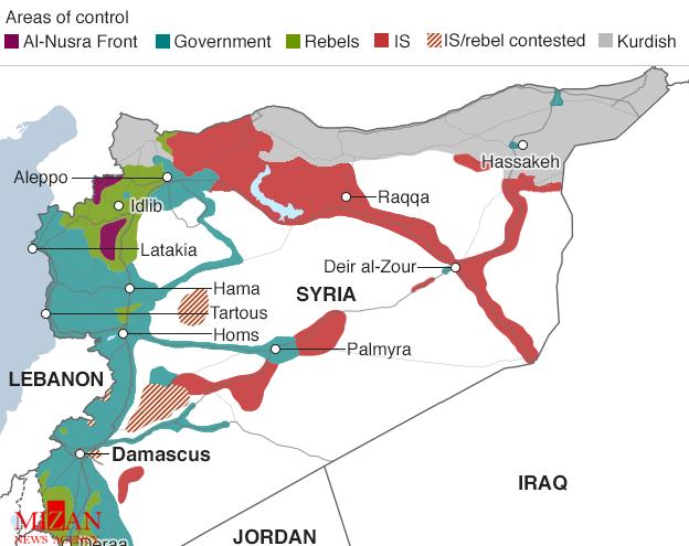 آیا نابودی داعش در سوریه امکان پذیر است؟ +نقشه