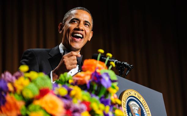 از گرفتن گافهای کلامی تا به سخره گرفتن شلوارهای جین اوباما +عکس