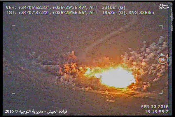 حمله موشکی ارتش لبنان به داعش+فیلم و عکس