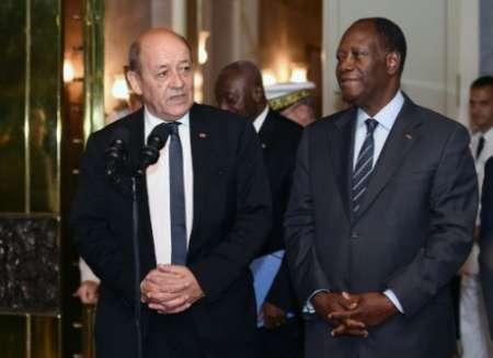 ساحل عاج؛ سومین پایگاه خارجی ارتش فرانسه