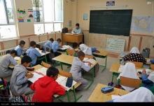 عکس/ مدرسهسازي بنياد برکت در مناطق محروم قم