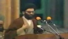 فیلم/ سخنرانی رهبرانقلاب پس از شهادت شهید مطهری