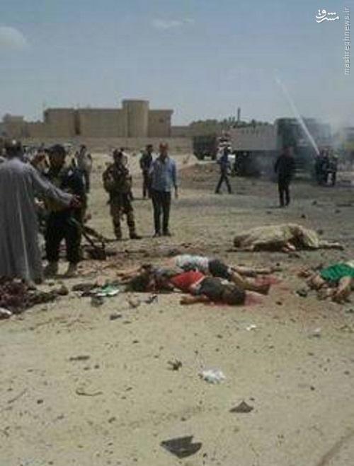 انفجارهای خونین در سماوه عراق+عکس