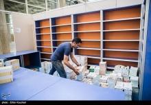 عکس/ آمادهسازی نمایشگاه بینالمللی کتاب تهران