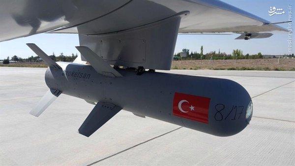 انهدام انبار مهمات داعش در حمله پهپادی ترکیه+عکس