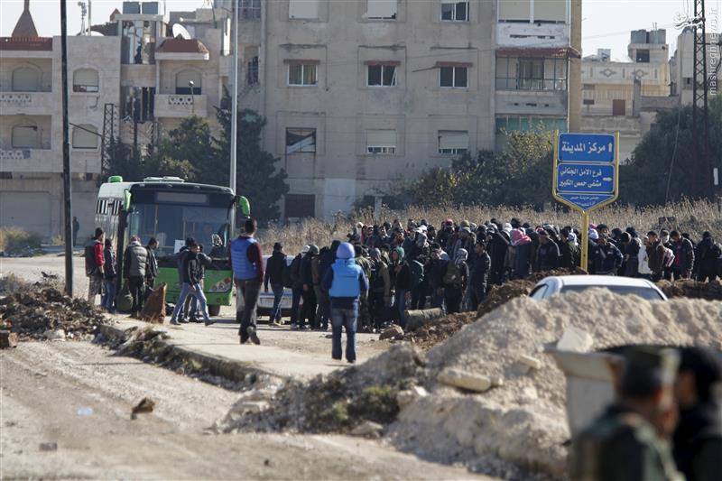 درگیری ارتش سوریه با تروریستها در حمص+نقشه