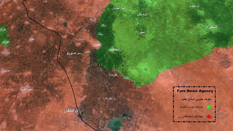 فداکاری نیروهای ویژه ارتش و سپاه در جنوب حلب