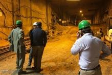 عکس/ ریزش تونل در حال احداث مترو مشهد