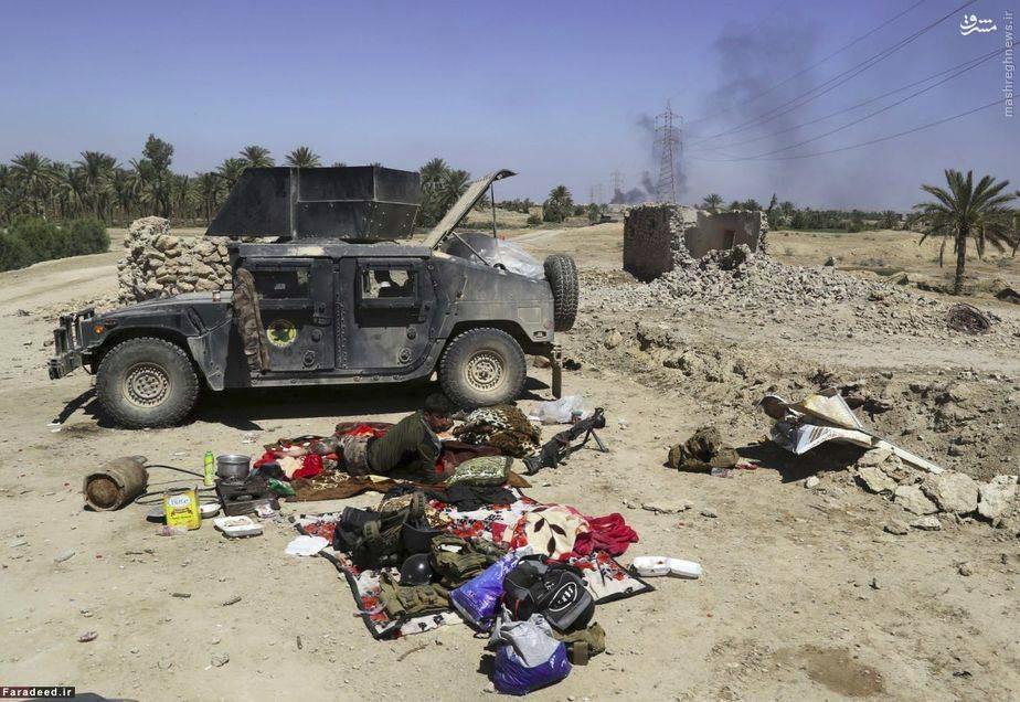 دستگیری تیم نفوذی داعش در الانبار عراق+عکس