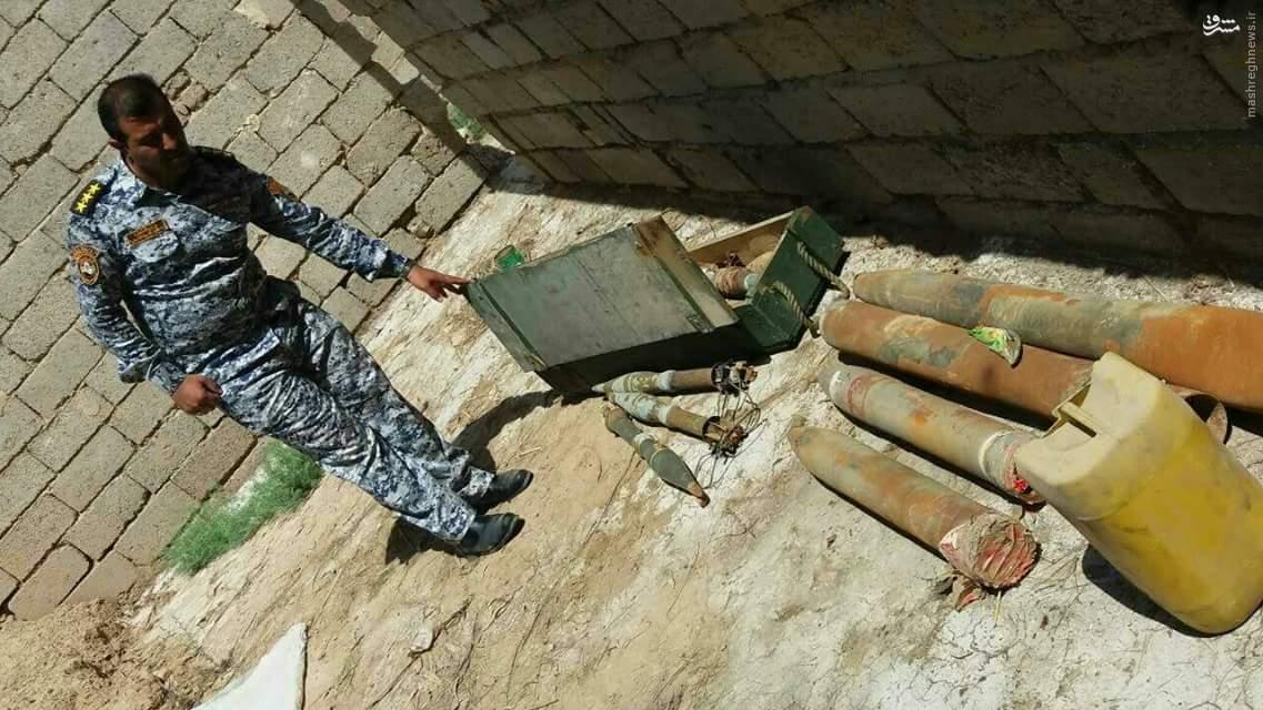 جلوگیری از شلیک موشک به زوار امام کاظم (ع)+عکس