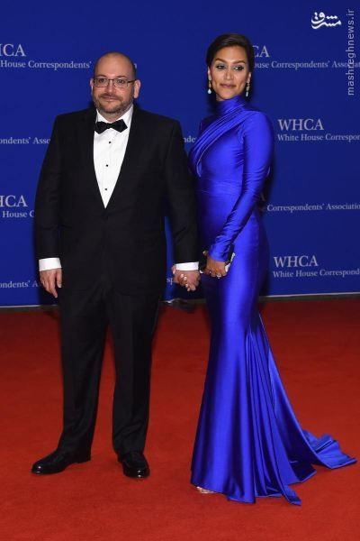 عکس/ جاسوس ایرانی و همسرش در کاخ سفید
