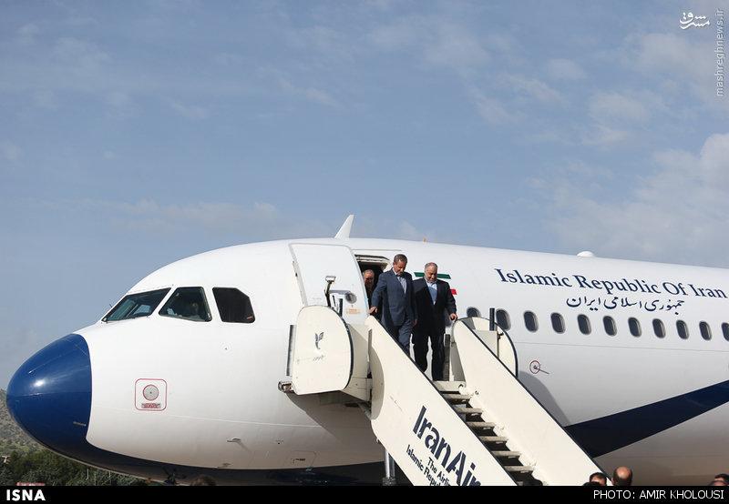 عکس/ هواپیمای جهانگیری در سفر به لرستان