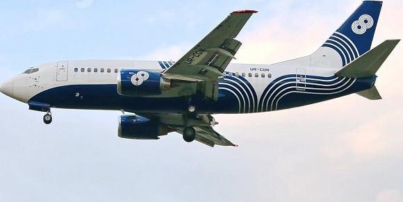 بوئینگ 737 وارد ایران شد+عکس