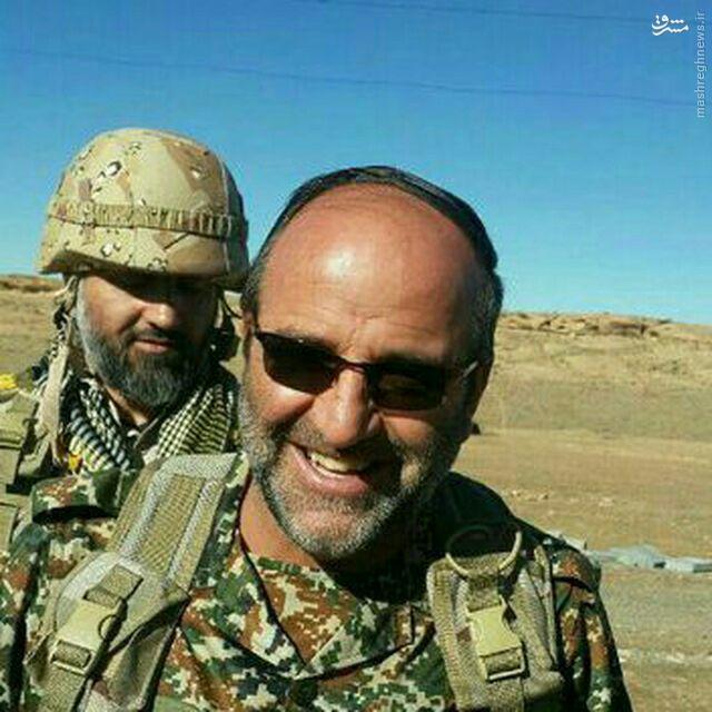 مدافع حرمی که از سوریه برگشت و در تفحص به شهادت رسید