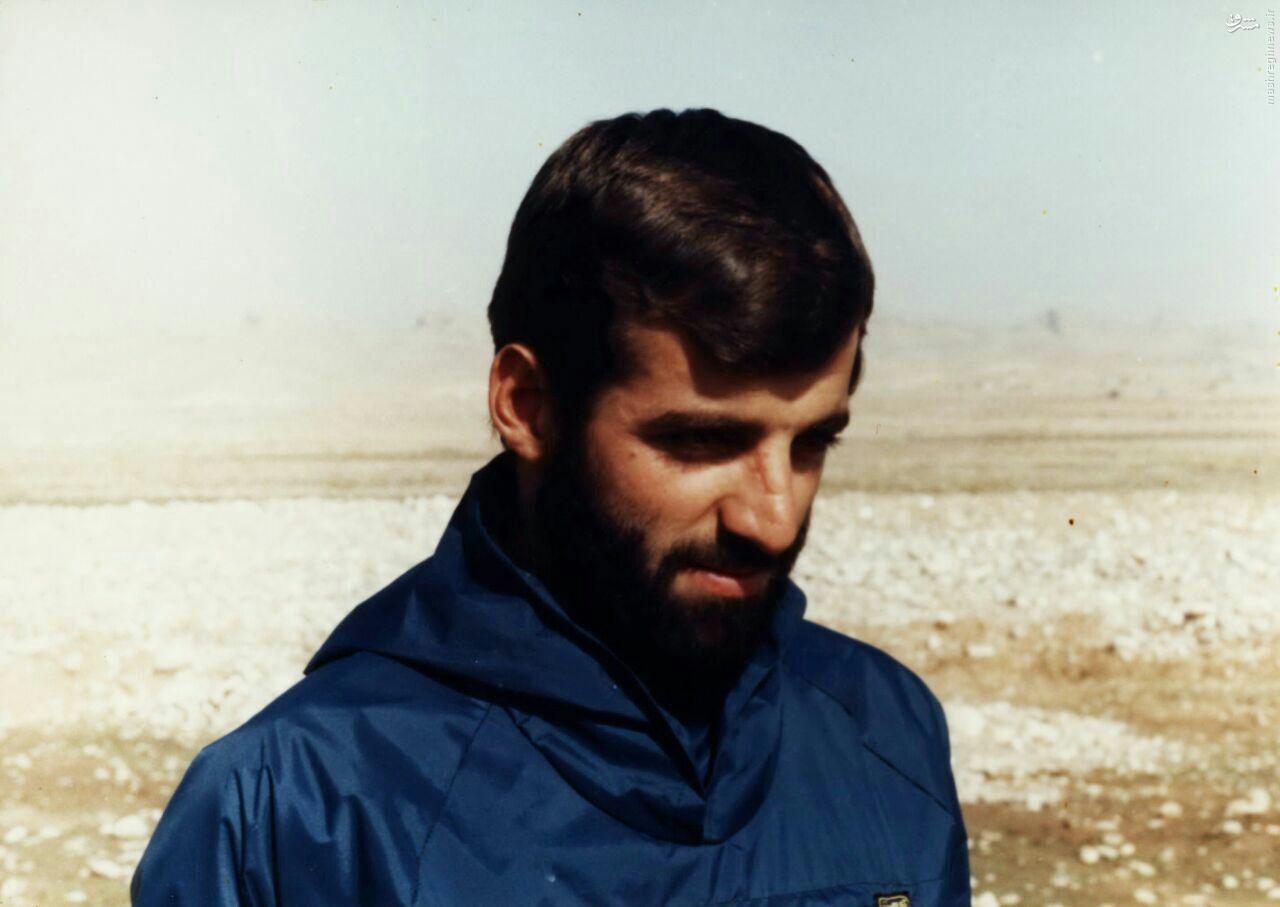 مدافع حرمی که از سوریه برگشت و در تفحص به شهادت رسید+عکس