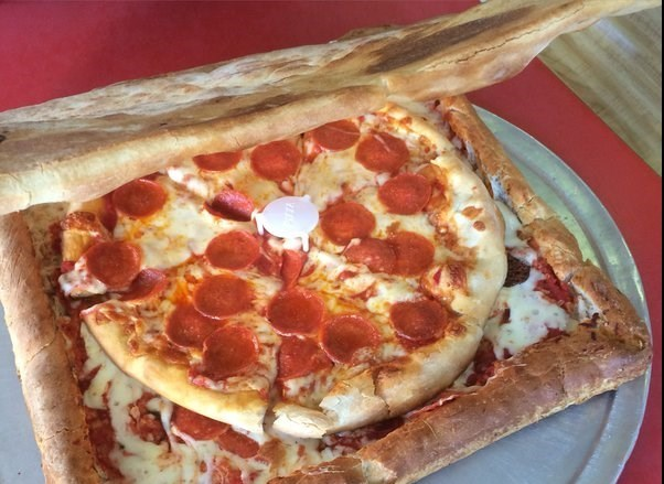 جعبه این پیتزا را هم میتوان خورد +عکس