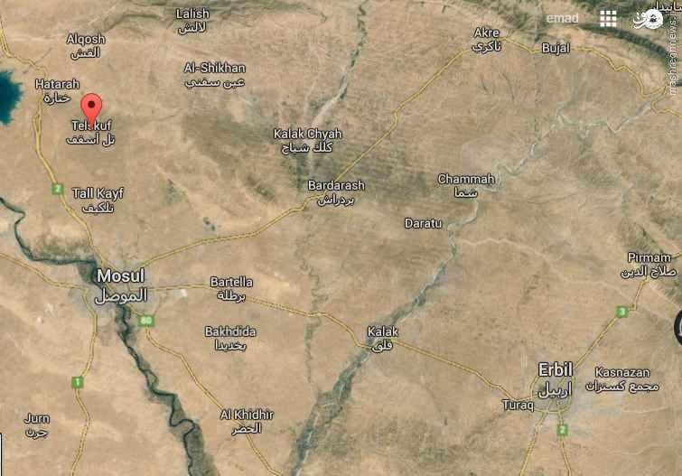 5 انتحاری ناکام داعش در شمال موصل+عکس