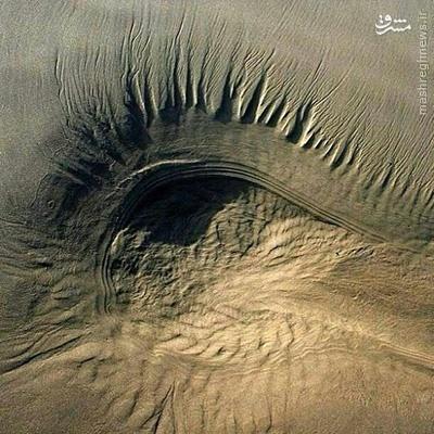 تصویری زیبا از چشم کویر مرکزی ایران+عکس