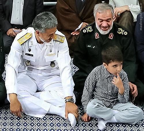 عکس/ دو فرمانده محبوب سپاه و ارتش در کنار هم