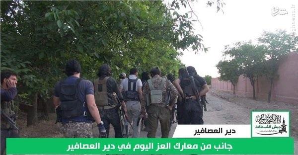حملات تروریستها به ارتش سوریه در دمشق+عکس