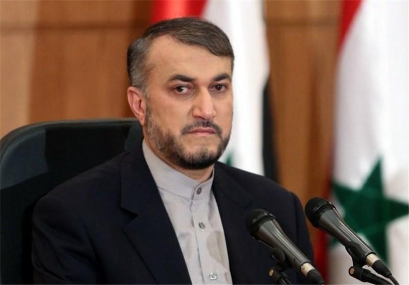 امیرعبداللهیان: فقط رژیمصهیونیستی از استمرار تنش و درگیری در منطقه بهره مند گردیده است