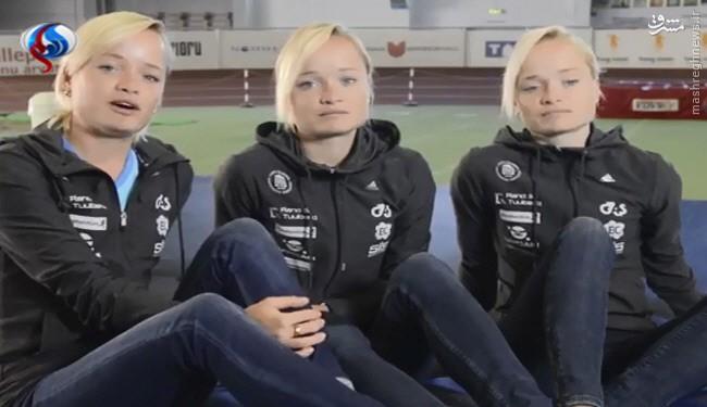 خواهران سهقلو در المپیک 2016 ریو +عکس